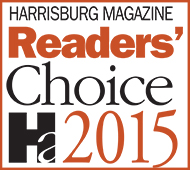 2015 Harrisburg Magazine Readers Choice Family Law Attorney