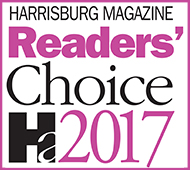 2017 Harrisburg Magazine Readers Choice Family Law Attorney