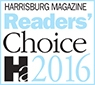 2016 Harrisburg Magazine Readers Choice Family Law Attorney